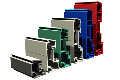 Flexible Precast Formwork system aluminium extrusions - side forms