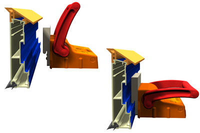 Magnetic Clamp Adaptors / Connectors for Flexible Precast Formwork system