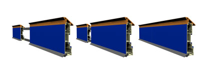 Joiner Sleeves for Flexible Precast Formwork system from aluminium extrusion