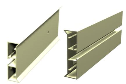 Flexible Precast Formwork system  - aluminium Sideforms / Shutters