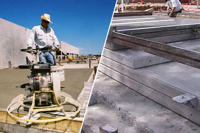 Site-cast formwork system